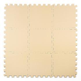 Мягкий пол универсальный 33 × 33, цвет бежевый