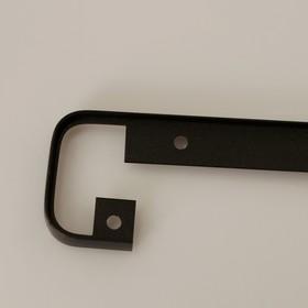 Щелевая планка для столешницы R9,  38мм черная