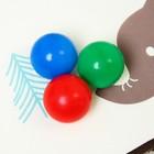 Коврик детский на фольгированной основе «Слоник», 90х90 см - фото 105523020