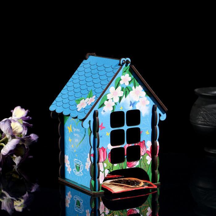 """Чайный домик """"Изба душевная"""", тюльпаны и ромашки - фото 490285"""