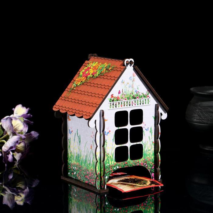 """Чайный домик """"Изба душевная"""", садовые цветы - фото 490288"""