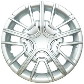 Колпак колеса HES13 R13, серебристый металлик