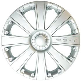 "Колпак колеса RSS14 R14 ""RS-T"", серебристый металлик"