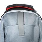 Рюкзак каркасный Hatber Ergonomic light 38 х 29 х 11, для мальчика Fighter, чёрный - фото 742151