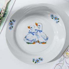 Тарелка 20 см мелкая «Гусята» Ош
