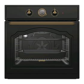 Духовой шкаф Gorenje BO7530CLB, электрический, 71 л, 8 режимов, таймер, чёрный