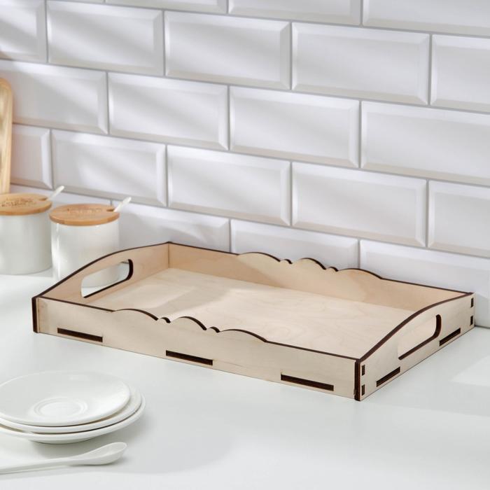 Поднос «Завтрак для двоих» 41×26×5,5 см