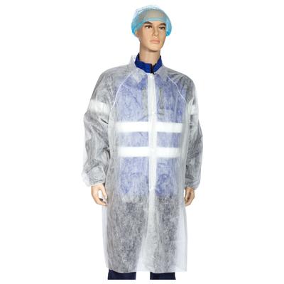 Gown disposable protective DOG PL 30 g/m2 (48-50 (L))