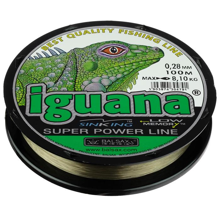 Леска BALSAX Iguana box 0,28, 100 м - фото 701944778