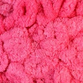 """Пряжа """"Puffy Ombre Batik"""" 100% микрополиэстер 600гр/55м (7418 фуксия)"""