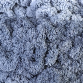 "Пряжа ""Puffy Ombre Batik"" 100% микрополиэстер 600гр/55м (7421 серый)"