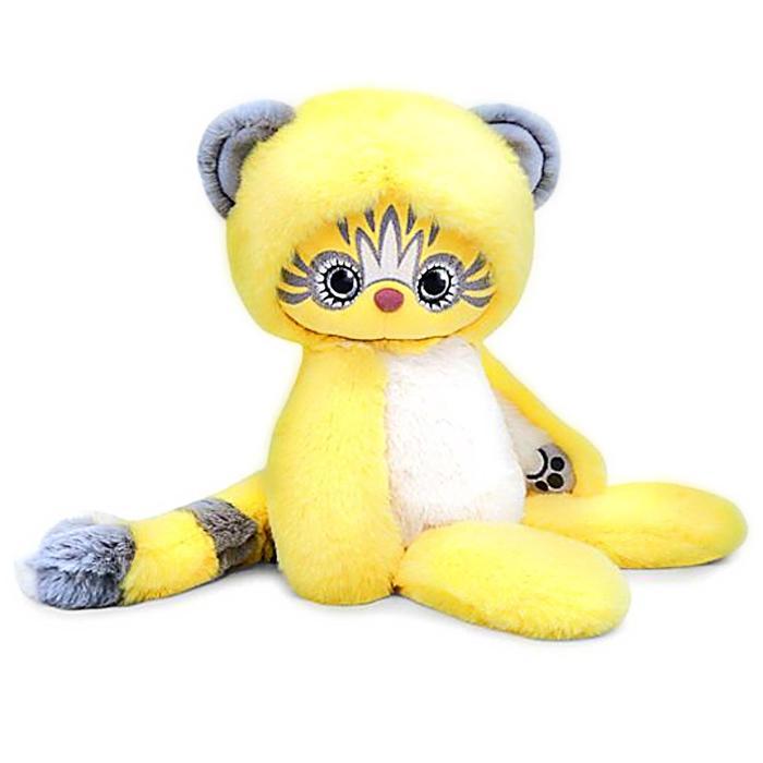 Мягкая игрушка «Эйка», цвет жёлтый, 25 см - фото 105611947