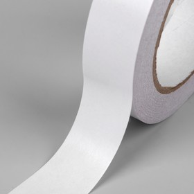 Tape adhesive, double sided, 25 mm, 25 m roll