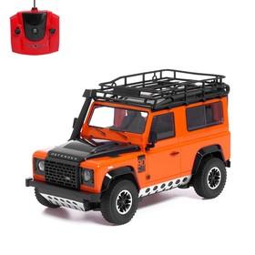 Машина радиоуправляемая Land Rover Defender, 1:16, полный привод, 4WD, работает от аккумулятора, МИКС