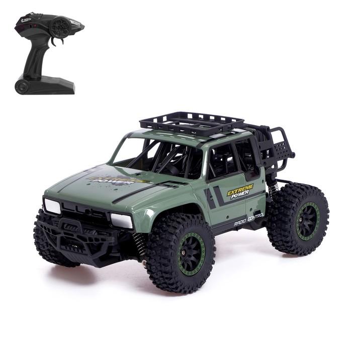 Машина радиоуправляемая «Монстр», 1:14, полный привод, 4WD, работает от аккумулятора - фото 105645543