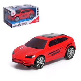 Car Jeep, light and sound effects, runs on batteries MIX