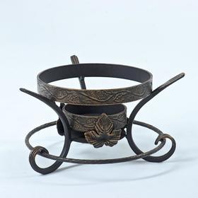 """Подставка под садж """"Шелковый путь декор кольцо"""" диаметр кольца 22,5 см"""