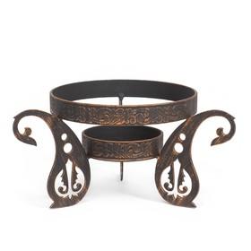 "{{photo.Alt || photo.Description || 'Подставка под садж ""Турецкая"" диаметр кольца 22,5 см'}}"