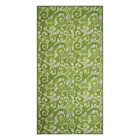 Палас МАРЛЕН размер 150х400 см, цвет зеленый 60/25 войлок 195 г/м2