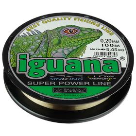 "Леска ""BALSAX"" Iguana box 0.20, 100м"