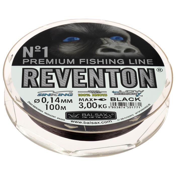 Леска BALSAX Reventon Black 0,14, 100 м