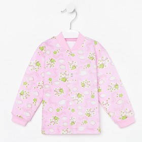 Кофточка детская, цвет розовый, рост 68 см (44)