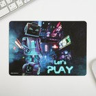 "Mouse pad ""Let's play"" 21 x14,8 cm"