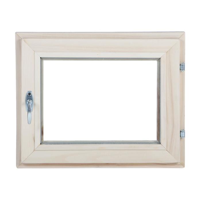 Окно, 40×50см, однокамерный стеклопакет, из липы