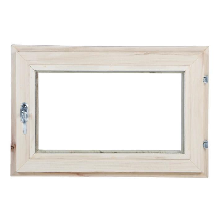 Окно, 40×60см, однокамерный стеклопакет, из липы