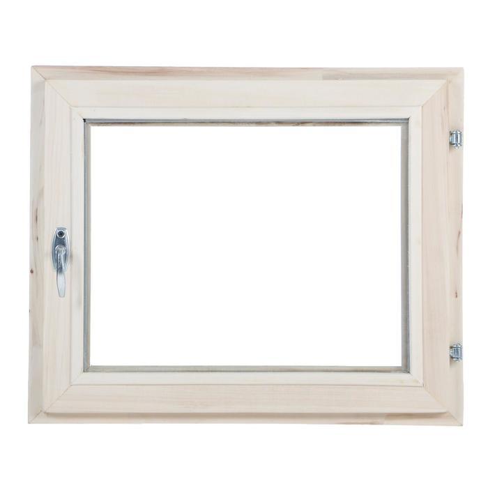 Окно, 50×60см, однокамерный стеклопакет, из липы
