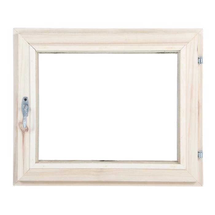 Окно, 50×60см, двойное стекло, из липы