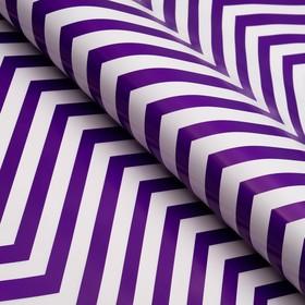 Бумага глянцевая, зигзаг, 49 х 70 см, фиолетовая в Донецке