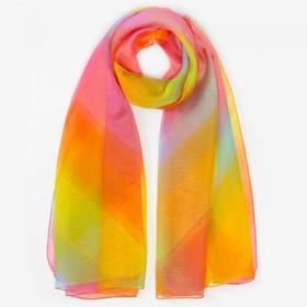 Парео текстильное, цвет разноцветный, размер 95х155
