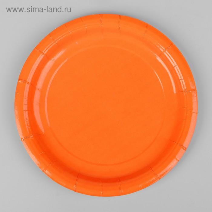 Plate, paper, monochrome, color orange