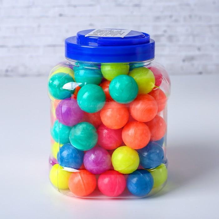 Мяч каучуковый «Яркая жемчужина», в тубусе, цвет в ассортименте