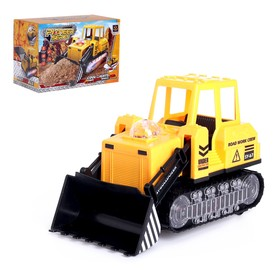 "Bulldozer ""Construction"", light and sound, runs on batteries"