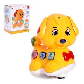 Развивающая игрушка «Собачка», световые и звуковые эффекты