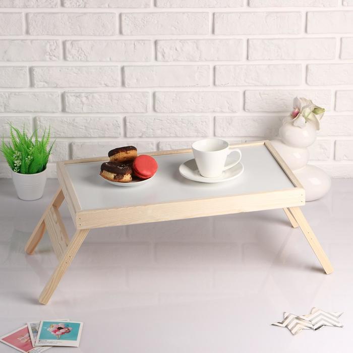 """Столик для завтрака складной """"Руссо"""", 50×30см"""