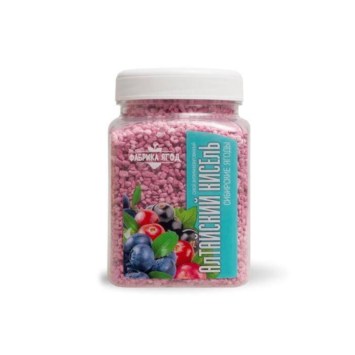 """Кисель сухой витаминизированный """"Фабрика Ягод"""" сибирские ягоды, 250 г - фото 15927"""