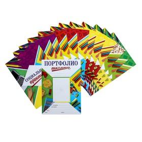 Листы - вкладыши для портфолио «Портфолио школьника», 13 листов, 21 х 29 см