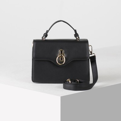Bag wives 7906, 20*8*15 2 Department, people's pocket, for belt, black