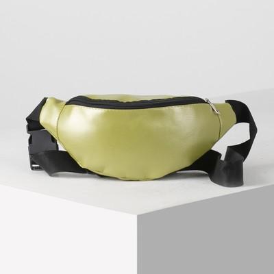 Bag on the belt 28*9*12, otd zipper, green