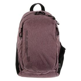 Рюкзак молодёжный, Luris «Тейди», 44 х 28 х 18 см, эргономичная спинка, бордо