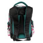Рюкзак школьный, Luris «Тайлер», 40 х 29 х 17 см, эргономичная спинка, «Арбузы», чёрный/белый - фото 742816