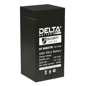 Аккумуляторная батарея Delta DT 6023 (75), 6 В, 2.3 А/ч Ош