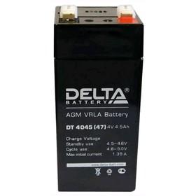 Аккумуляторная батарея Delta DT 4045 (47), 4 В, 4.5 А/ч Ош