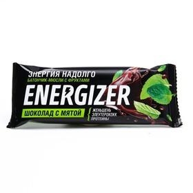 Батончик-мюсли ENERGIZER Шоколад с мятой 40г