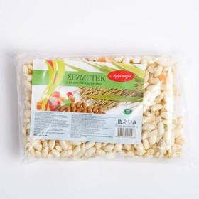 ХРУМСТИК рисовый с арахисом и цукатами с фруктозой 45г