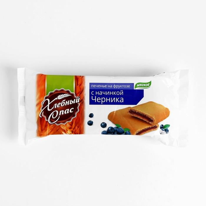 """Печенье с начинкой """"Черника"""" на фруктозе 200гр*12шт - фото 16691"""