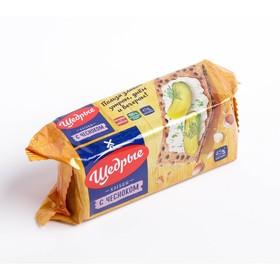 Хлебцы ЩЕДРЫЕ ржаные с чесноком 100г